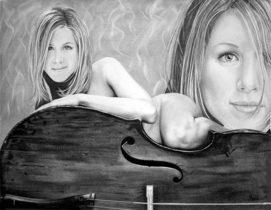 Jennifer Aniston by Domine